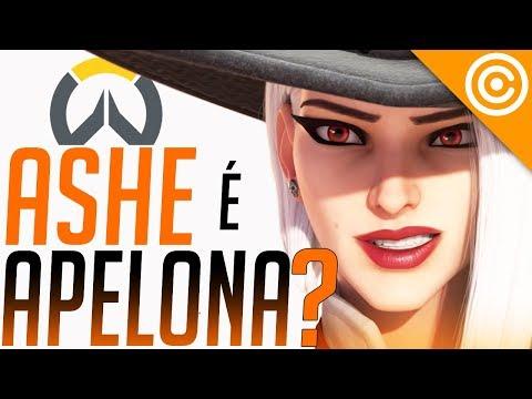 ASHE Gameplay - Novo herói é ROUBADO? - Overwatch thumbnail
