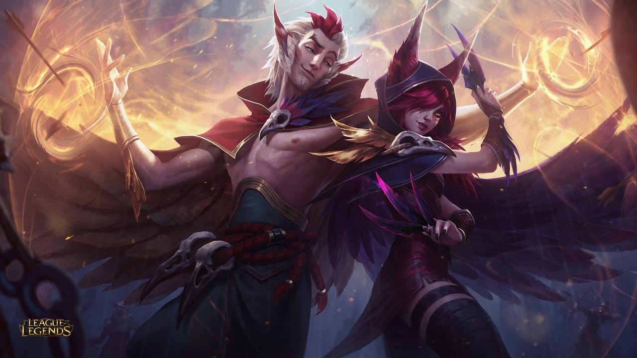 Xayah And Rakan Login Screen League Of Legends Wallpaper Engine