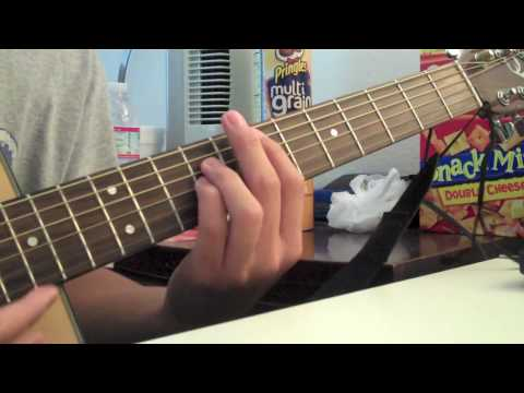 Guitar Tutorial: Pt1 of Hero by Sterling Knight