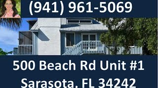 Luxury Condo on Siesta Key (941) 961-5069 | Siesta Key Beach Investment Condo for Sale