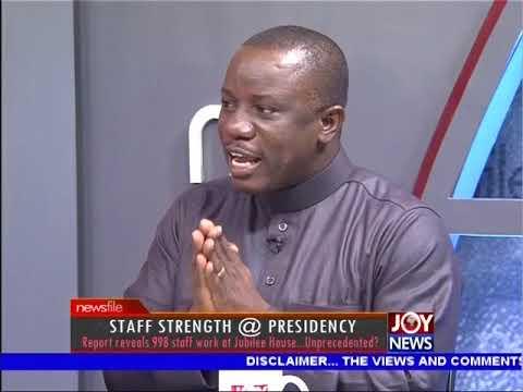 Staff Strength @ Presidency - Newsfile on JoyNews (21-4-18)