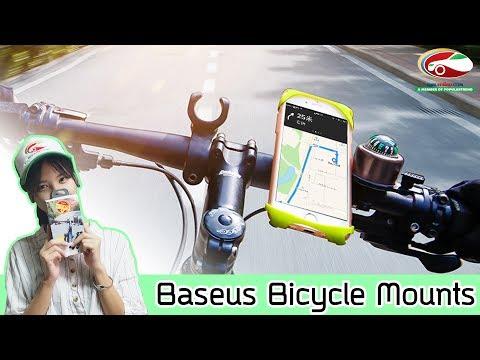 ที่จับโทรศัพท์มือถือสำหรับจักรยาน Baseus  Bicycle  Mounts   รีวิวสินค้า