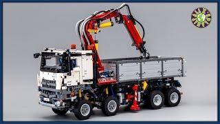 Lego Mercedes Arocs 3245 With Pneumatic System Stop Motion Review | ALEXSPLANET