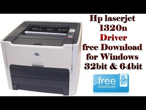 🔴Hp LaserJet-1320 Driver Download And Install In Hindi Urdu