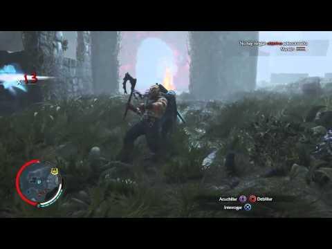 Gameplay La Tierra Media Sombras de Mordor Trofeo salvaje ardiente