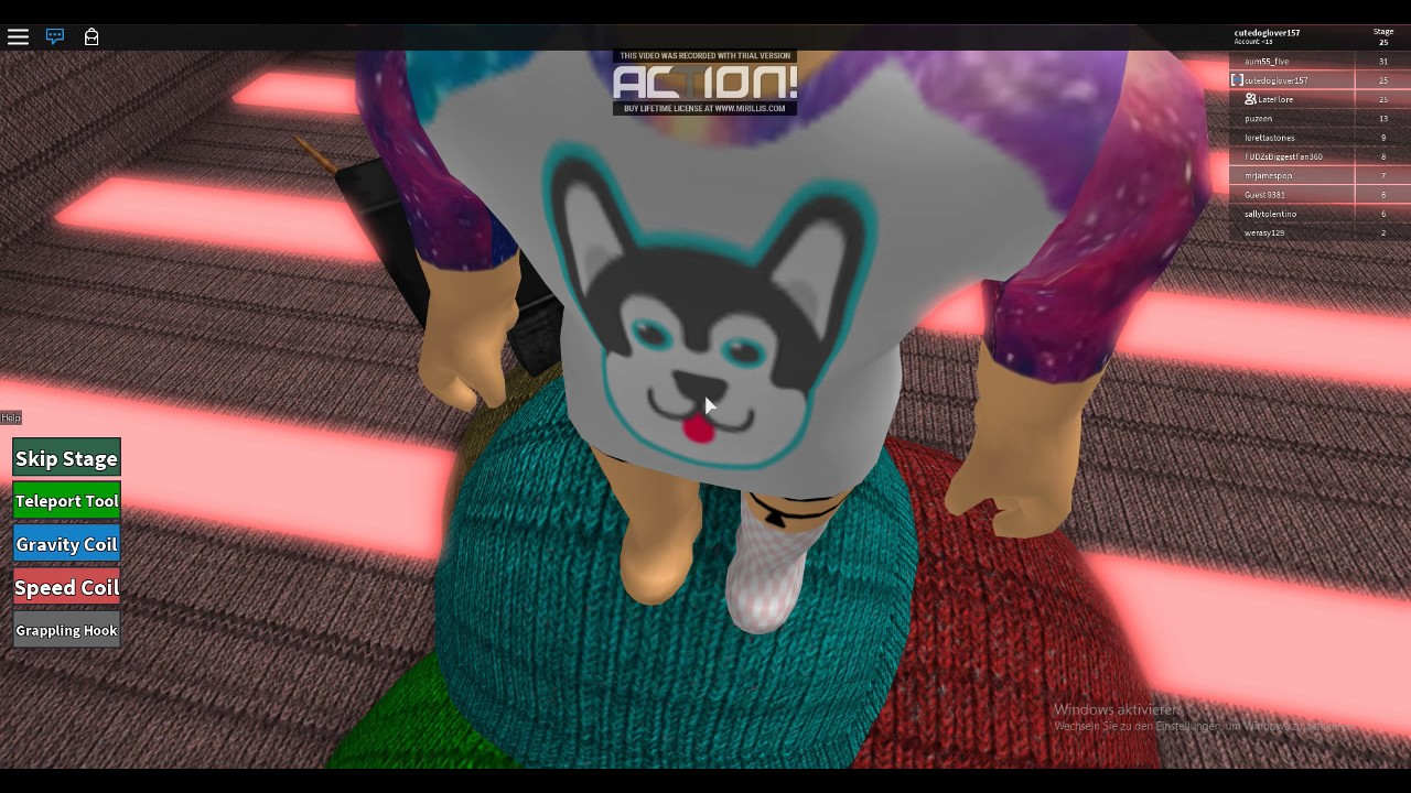 Roblox Guest Obby Teil 2 Youtube