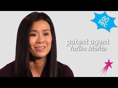 60 Seconds With a Patent Agent Yoriko Morita