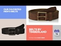 Belts By Timberland Our Favorites Men's Belts