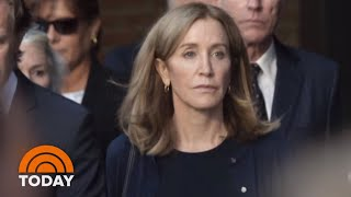 What Felicity Huffman's Sentence Means For Lori Loughlin And Others | TODAY