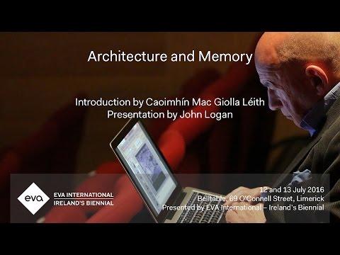 EVA16 - Architecture and Memory Presentation: John Logan - Still (the) Barbarians: A Symposium.