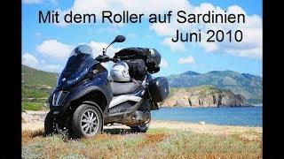 Rollerreise Sardinien 2010 - 1 - DB Autozug Hamburg - Verona, Piaggio MP3