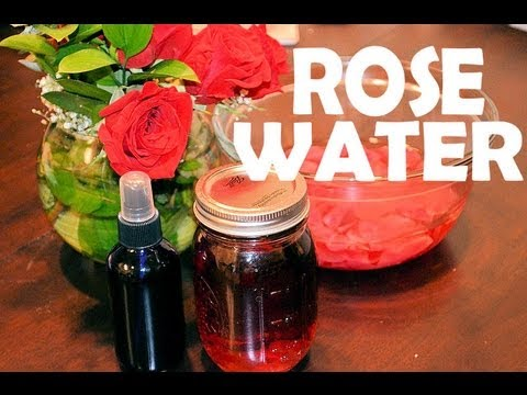Rose Water Spray Diy