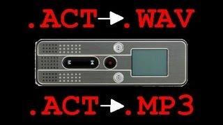 Чем послушать .ACT
