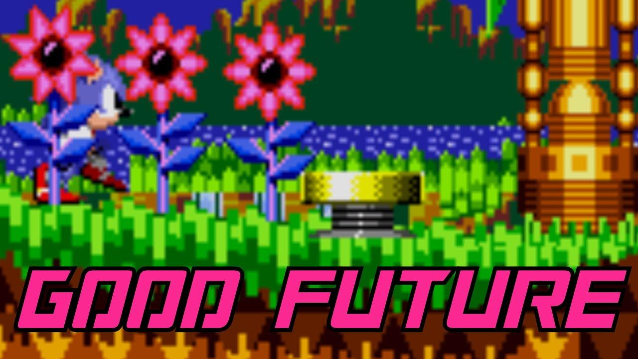 Sonic CD [JP/PAL] - Palmtree Panic Good Future (CPS-2 Remix)