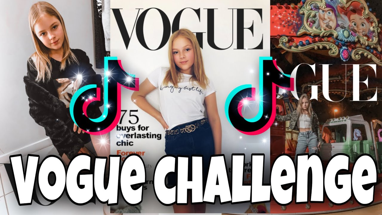 How To Do The Vogue Challenge On Tiktok Youtube