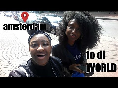 TRAVEL VLOG: Amsterdam to di Worlalala-orld!!!