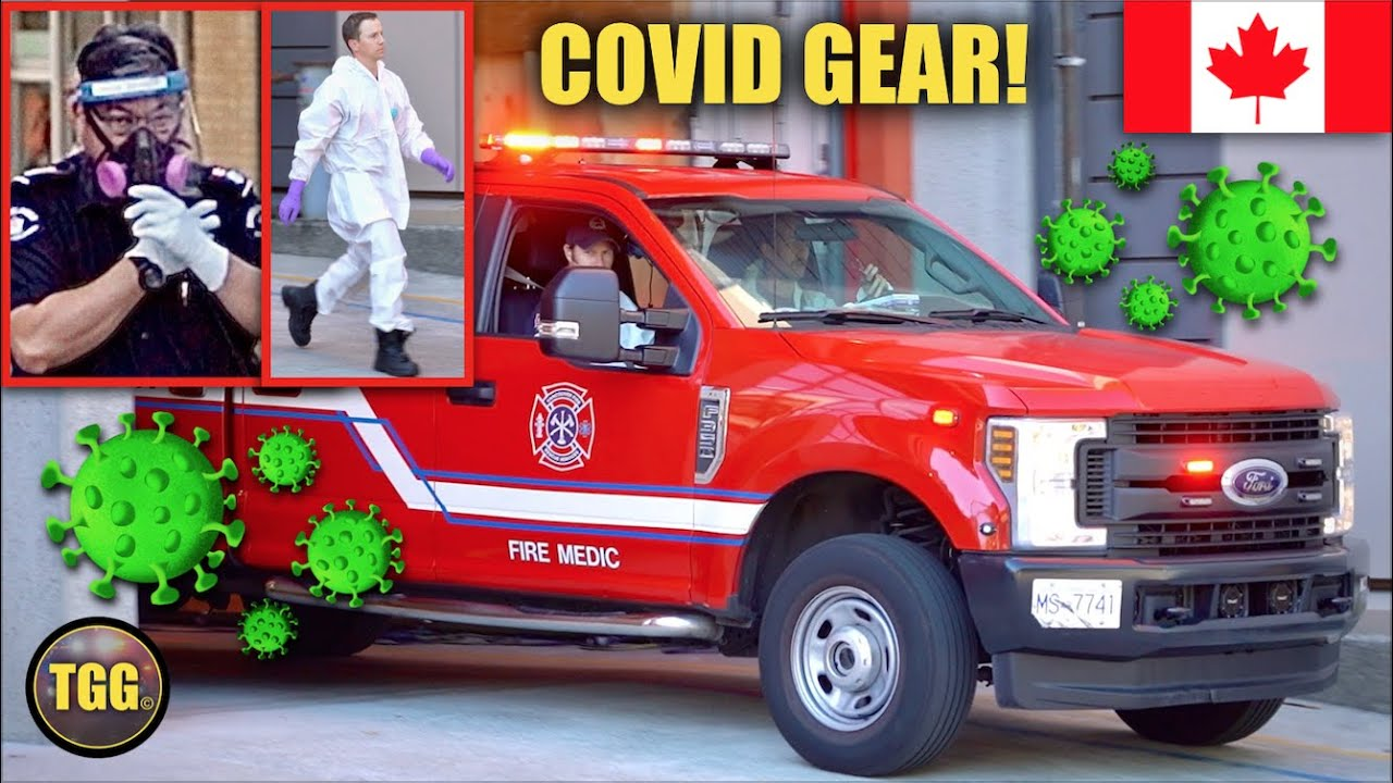 [COVID-19] Emergency Responses With Protective Gear in Vancouver!