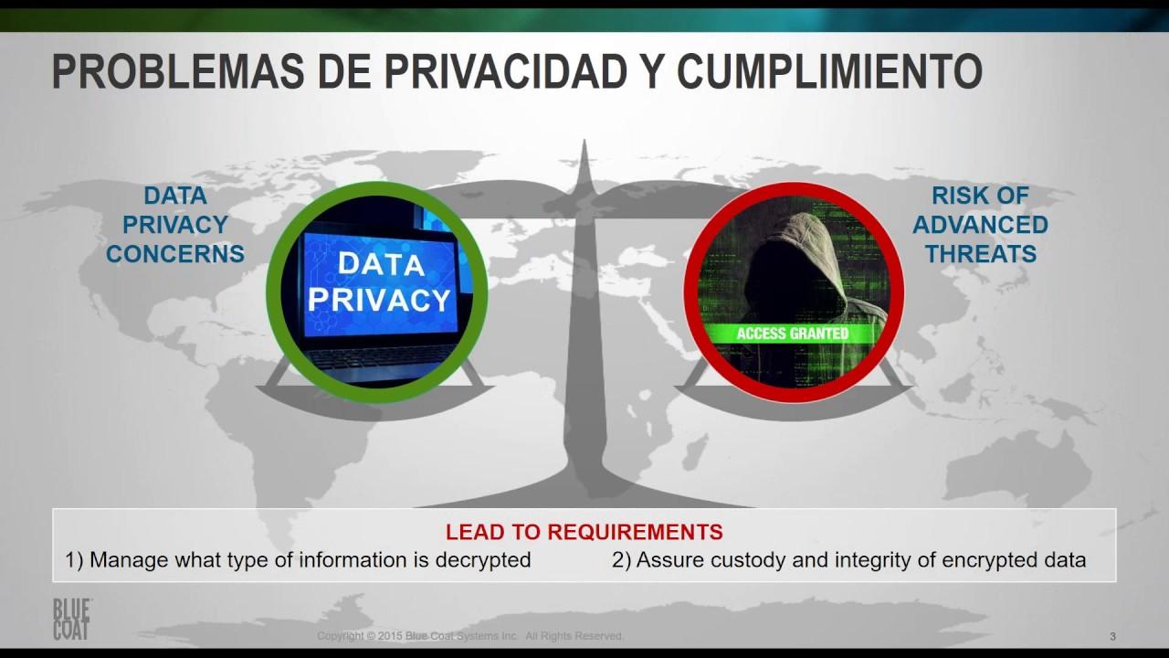 Webinar Blue Coat + Symantec: Proxy y SSL Visibility