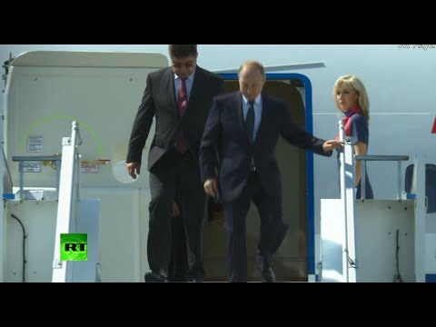 Putin-Trump meeting: Russian president arrives in Helsinki, Finland