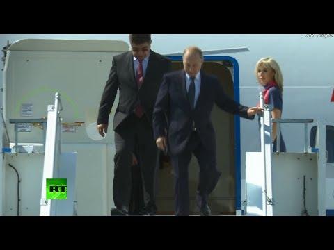 Putin-Trump meeting: Russian president arrives in Helsinki, Finland