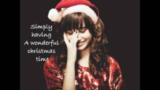 Demi Lovato - Wonderful Christmas Time // Lyrics