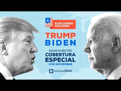 En vivo en español: Elecciones presidenciales en Estados Unidos 2020