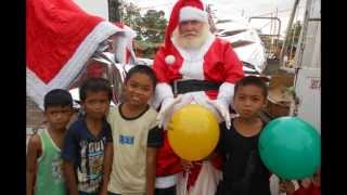 Valencia City, Bukidnon, first ever Santa Claus Parade in the Philippines on Dec. 21, 2013