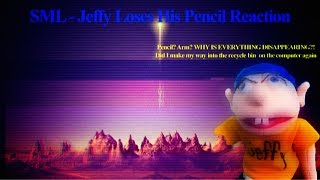 SML Movie: Jeffy Loses His Pencil Reaction