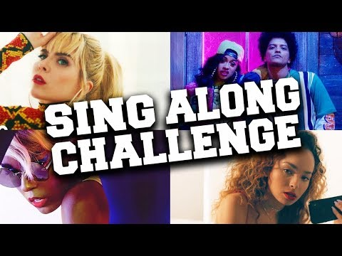 Try Not To Sing Along Challenge 2018 - If You Sing You Lose