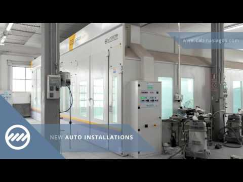 Lagos Spray Booths: Our latest projects for the Automotive s