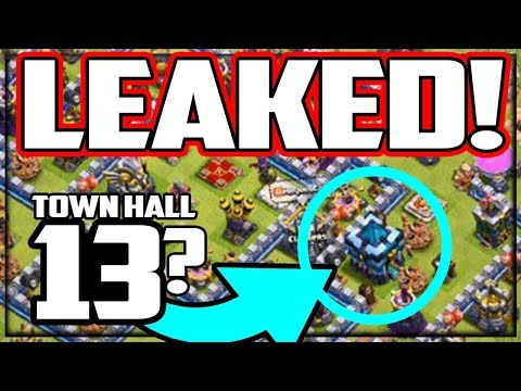 Town Hall 13 LEAKED? Level 70/70/50 Heroes! Clash Of Clans UPDATE