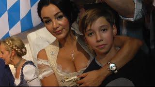 Verona Pooth - Sohn San Diego (12) gibt intimen Familien-Einblick  - BUNTE TV