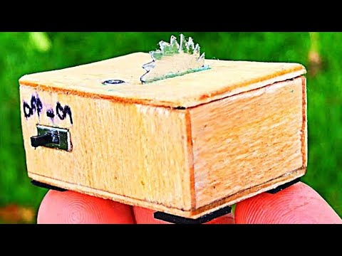 How to make Micro Table Saw Machine Worlds Smallest DIY