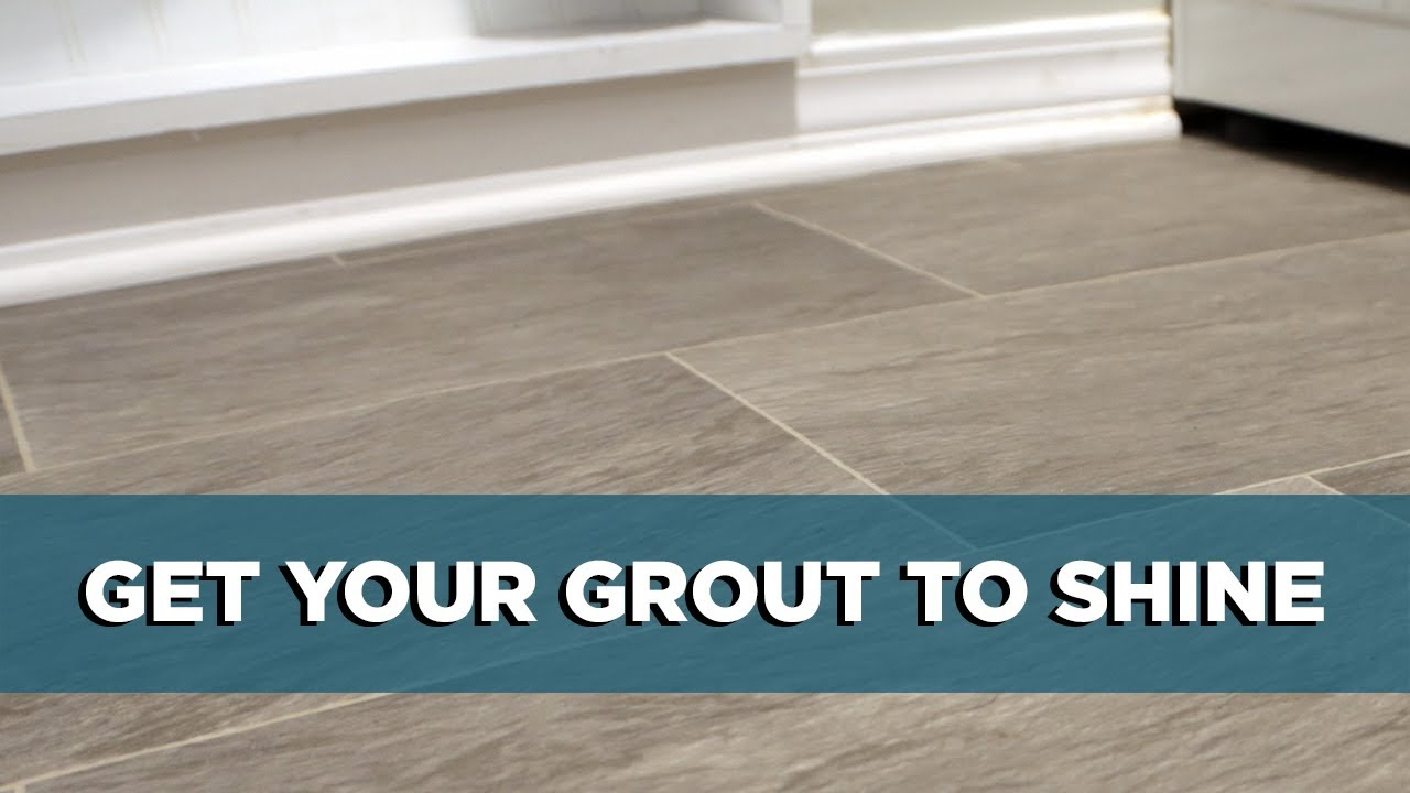 How To Make Grout Lines Sparkle Again Youtube