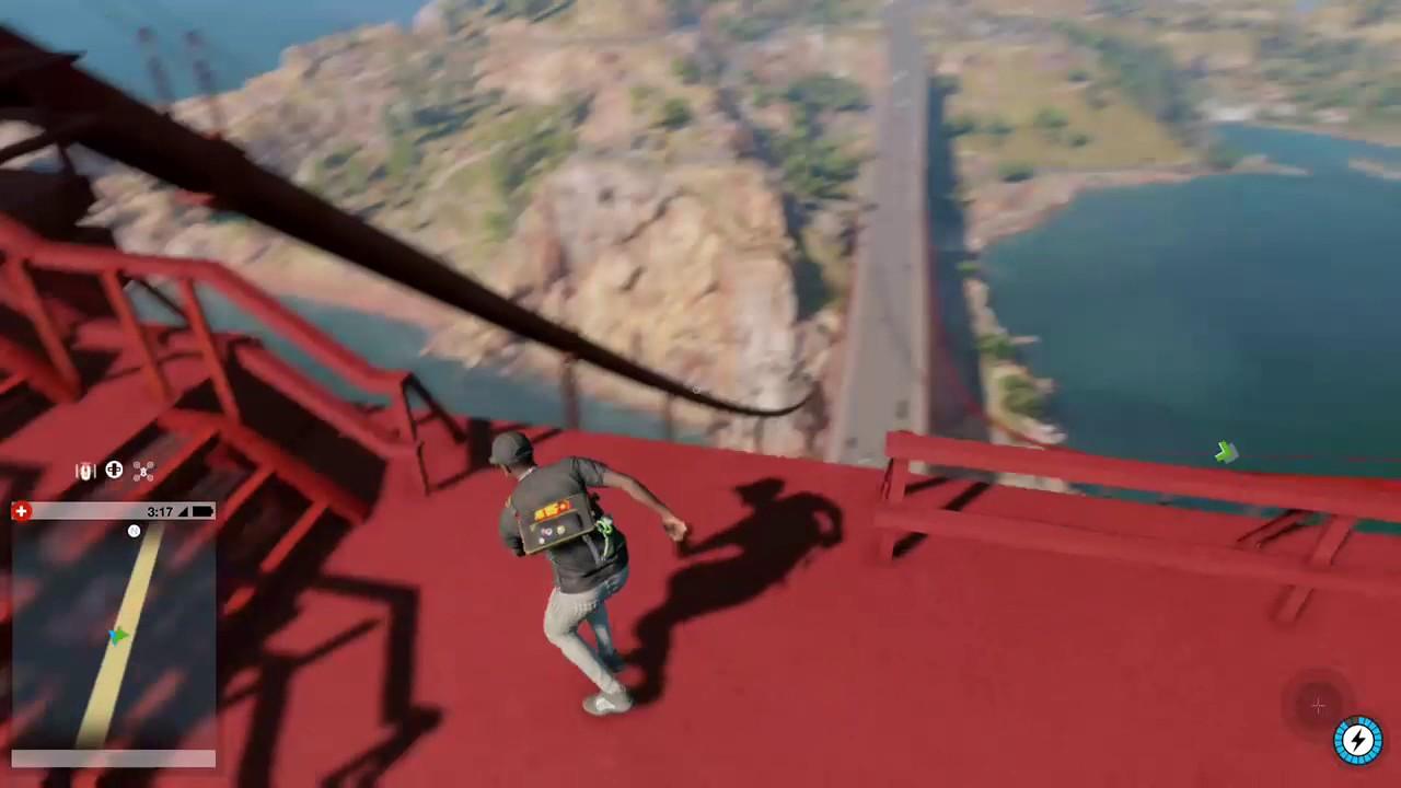 Golden Gate Bridge Climb Watch Dogs 2 Youtube