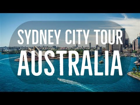 Sydney City Tour Australia Oceania  Vacation Travel Guide