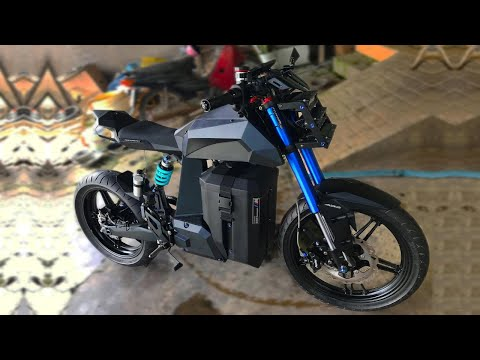 DIY Electric Motorcycle 53 mph / 85 kmh