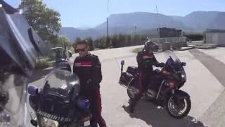 Polizeikontrolle auf Rückreise aus Italien