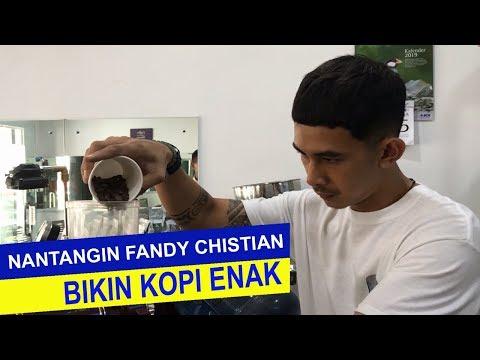 Fandy Christian Belajar Bikin Kopi