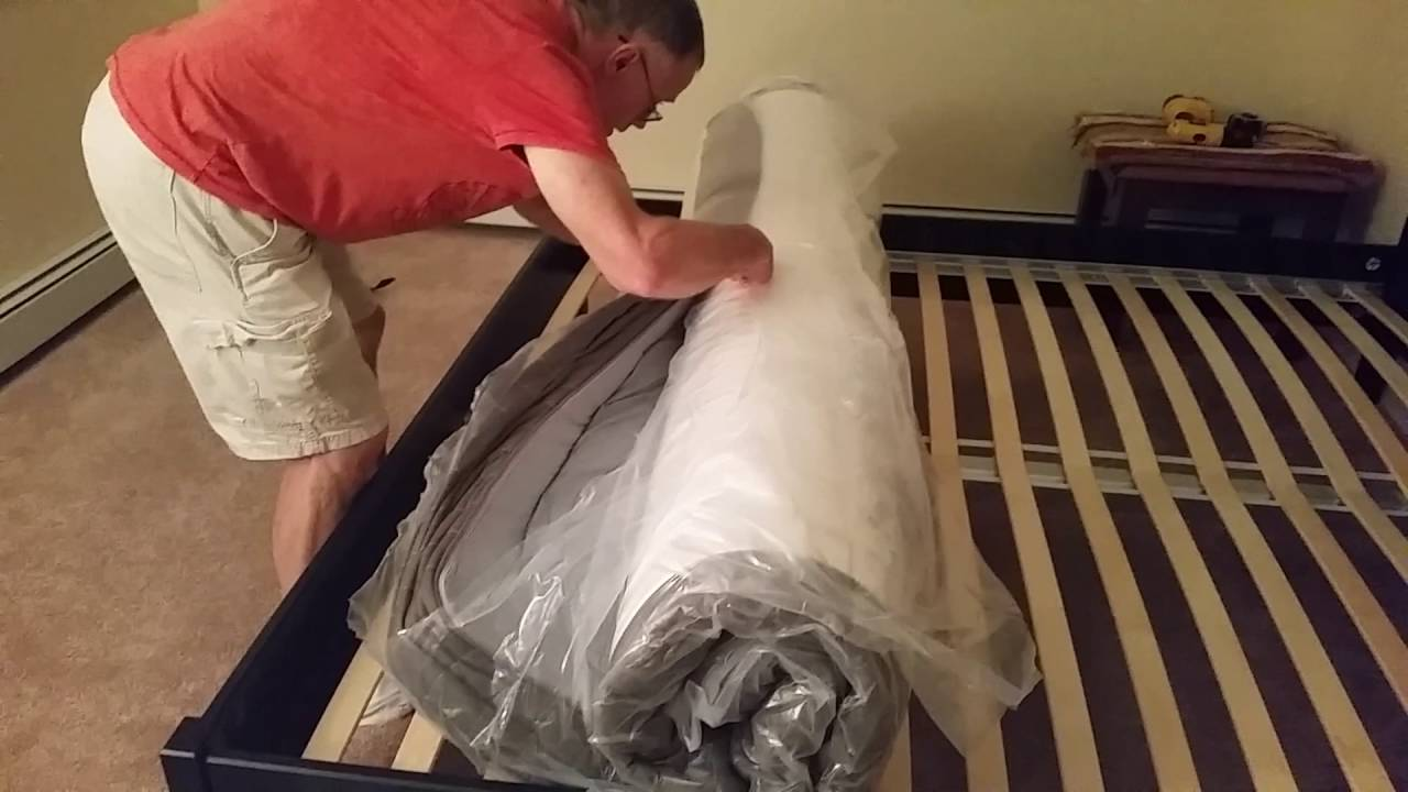 how to unpack a mattress