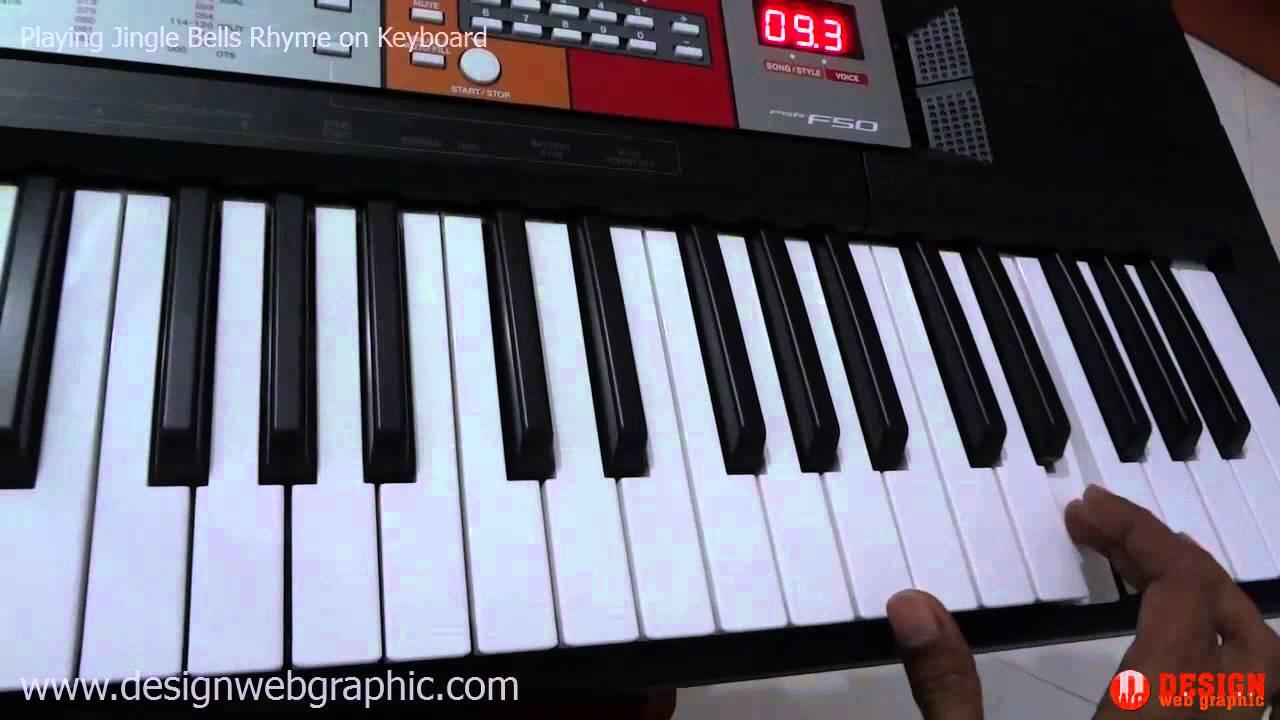 playing nursery rhyme jingle bells on keyboard yamaha psr. Black Bedroom Furniture Sets. Home Design Ideas