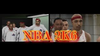 NBA 2K6 PS2 and XBOX 360 Side by Side Comparison