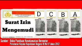 8 Macam Surat Izin Mengemudi Yang Berlaku Di Indonesia.  Edited