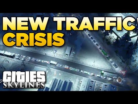 NEW TRAFFIC CRISIS | Cities Skylines - Karelia [15]