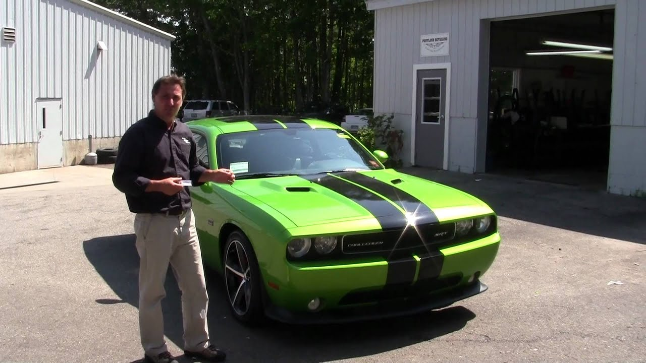 Best maine dodge car dealers 2011 challenger green with for Southern maine motors saco maine