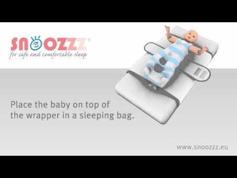 Snoozzz sleepwrap sleeping positioner for a safe and comfortable sleep