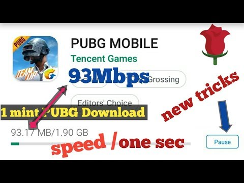 How To Download PUBG Mobile In One Minute, PUBG Game Download Kaise Kare 1 Minute