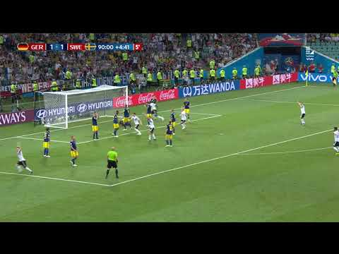 ¡GOL DE LA VICTORIA PARA ALEMANIA! | Alemania vs Suecia