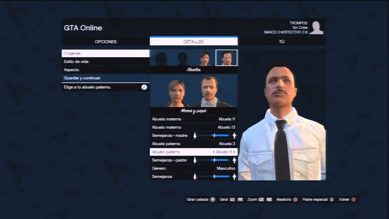 Gta v crear personaje online youtube for Cuarto personaje gta 5