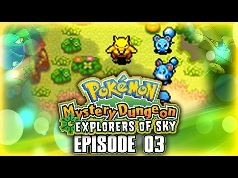 "Let's Play Pokemon Mystery Dungeon Explorer's of Sky w/ ShadyPenguinn [Ep03] ""DROWZEE KIDNAPS!?"""